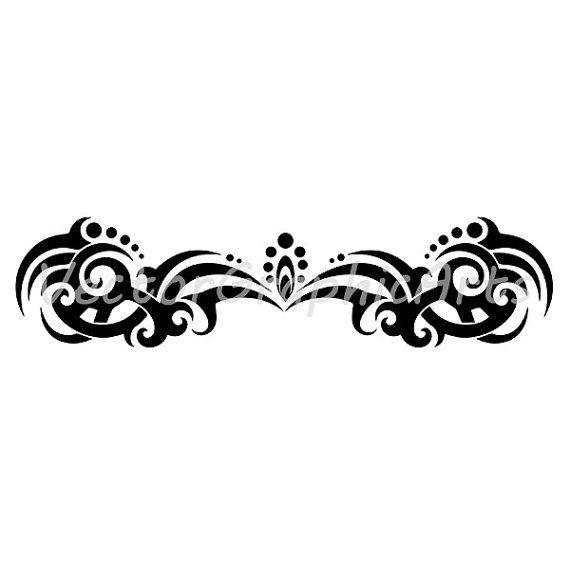 Tatoo ornament. Ornament for a tattoo от VectorGraphicArts на Etsy