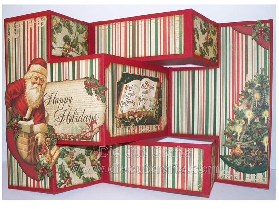 17 best Tri-Shutter Cards images on Pinterest Folded cards - tri fold card