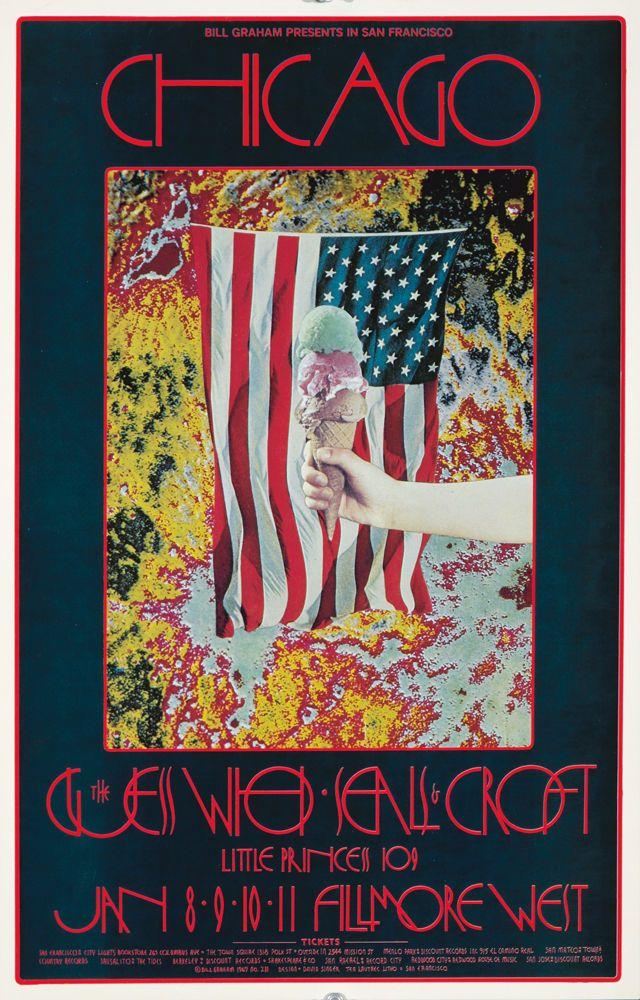 Original Vintage Poster James Cotton Blues Band San