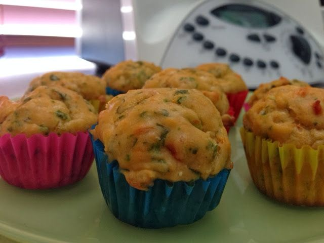 Simply Thermomix Blog: Savoury Vegetarian Muffins in the Thermomix!