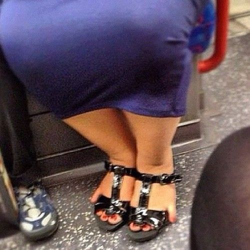 You know your shoes are too small when....
