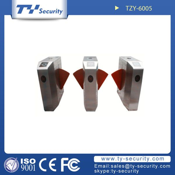 Flap barrier gate with twin lanes TZY-6005
