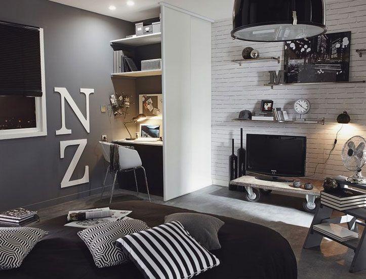 Moderno y urbano, mezcla de estilos en colores neutros para un ...