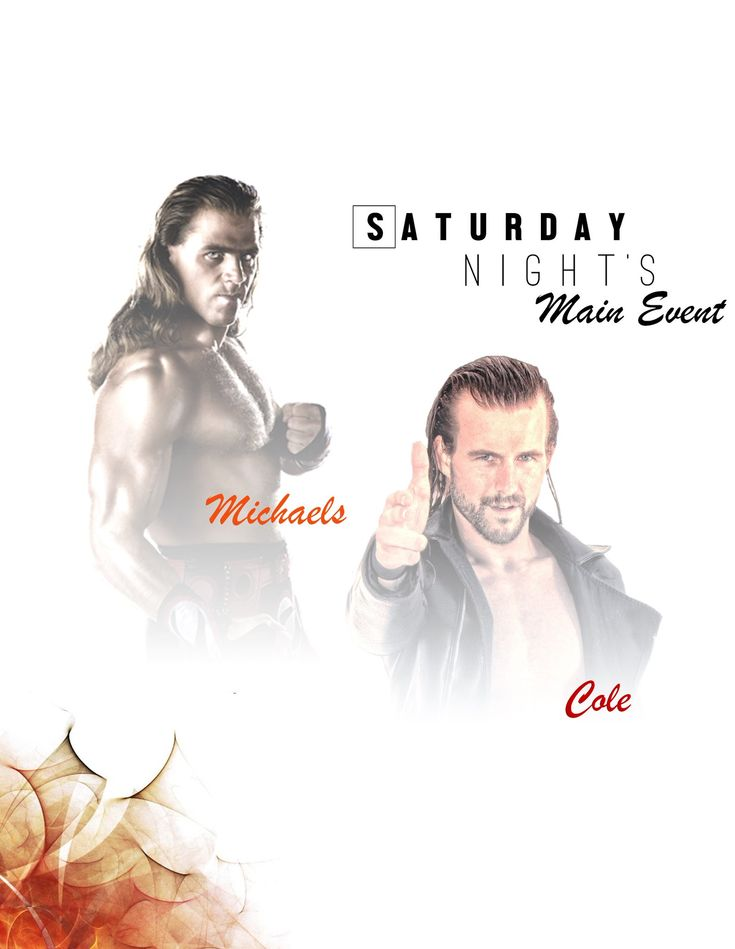 WWE Pay Per View Posters, WWE PPV Posters, Shawn Michaels, Adam Cole