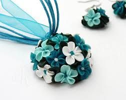 flowers out of polymer clay - Google Search