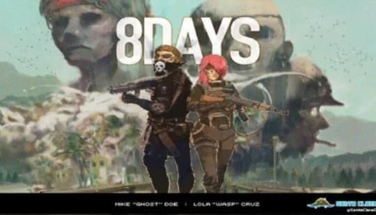 8-Bit Top Down Shooter 8Days Gets February 2017 Xbox One and PS4 Release Date