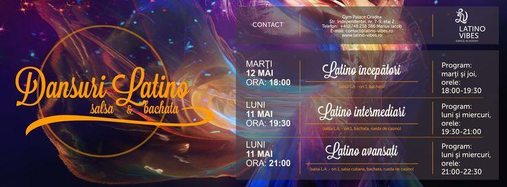 Curs de dansuri latino Oradea mai 2015