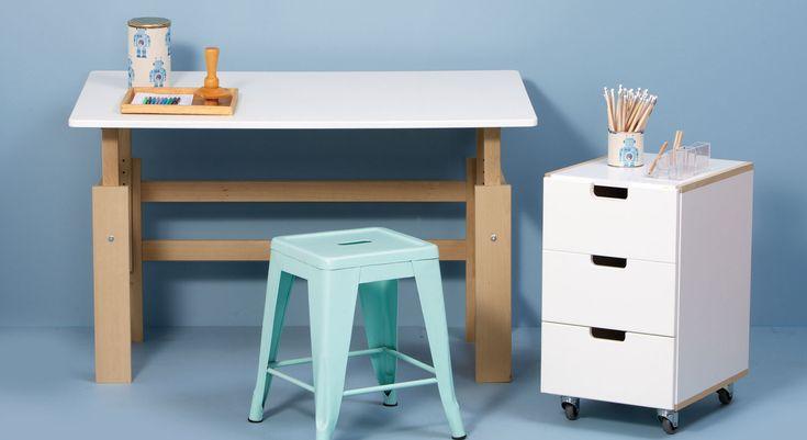 Schreibtisch Ikea Höhenverstellbar ~ www betten de bilder schreibtisch kids town hoehenverstellbar buche