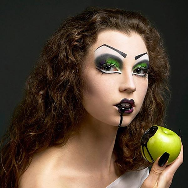 eye makeup makeup tutorial halloween cosplay gothic - Scary Halloween Eye Makeup