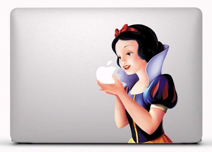Pegatinas: Blancanieves  Vinilo, pegatina, adhesivo para portátil, Mac, o Macbook. #vinilosportatil  #vinilosmac #vinilosmacbook