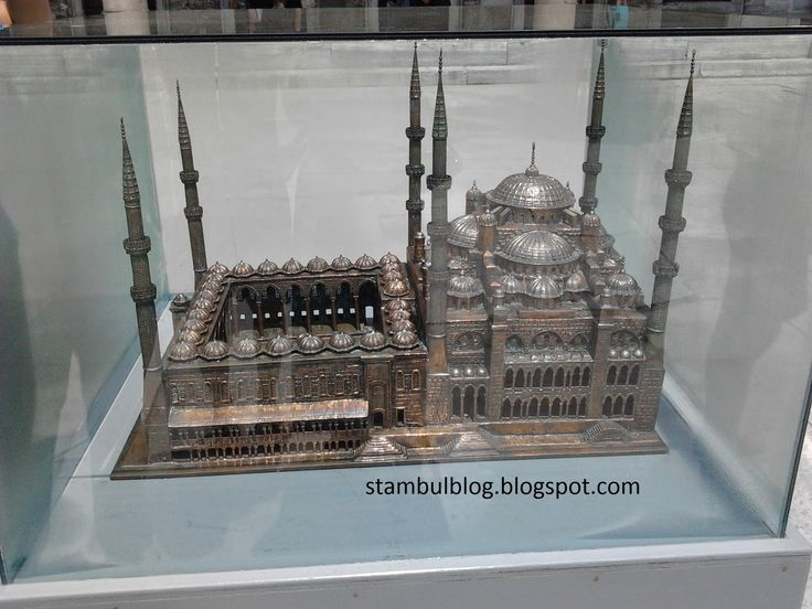 макет Голубой мечети
