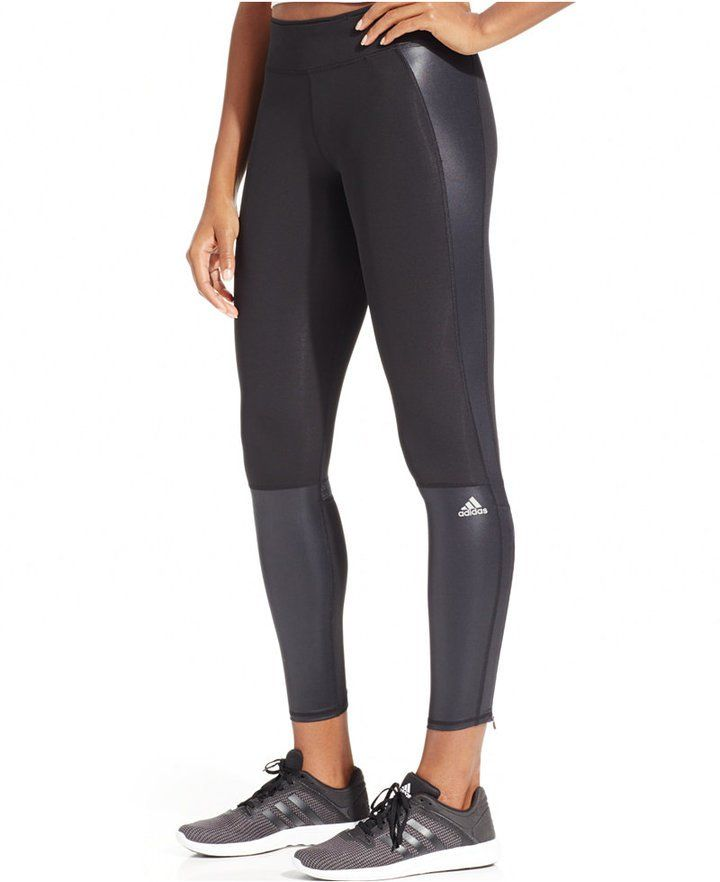 Slip Into Fall — and a Pair of These High-Waisted Yoga Pants Adidas Supernova ClimaCool Leggings Adidas Supernova ClimaCool Leggings ($65)