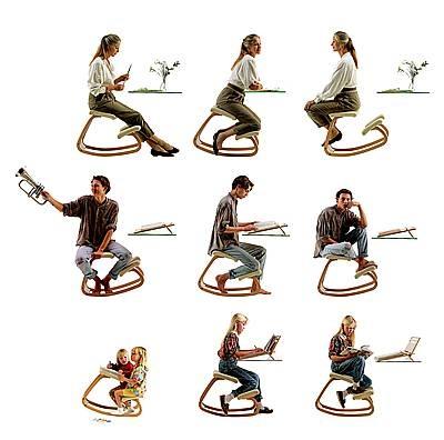 Nel 1979 Stokke ha lanciato una rivoluzione nel mondo delle sedute, che si è diffusa in tutta Europa e negli Stati Uniti: l'innovativa Stokke Variable Balans.E' ancora oggi una seduta intramontabile, molto popolare, soprattutto tra gli studenti.  Questo concetto di seduta crea un angolo aperto tra la coscia e la parte superiore  del corpo, per cui è più facile mantenere la curvatura naturale della regione lombare.
