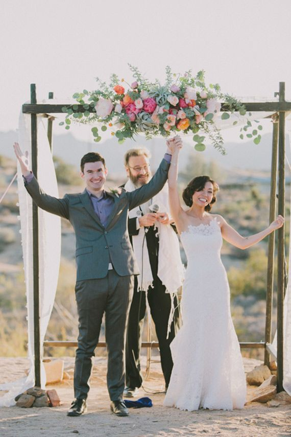 Floral chuppah   Photo by Fondly Forever Photography   Read more - http://www.100layercake.com/blog/?p=70401