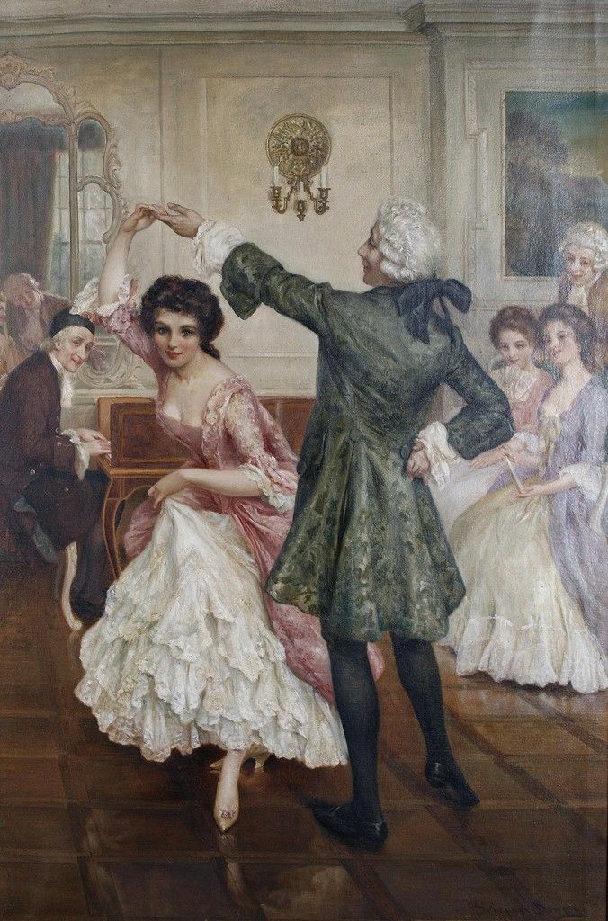 """The Ballroom"", Delapoer Downing (British, 1853-1926)."