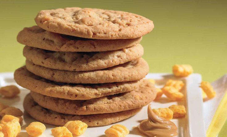 Peanut Butter Cap'N Crunch cookies