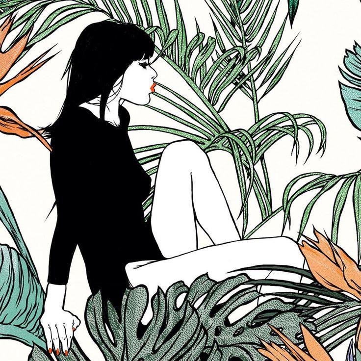 """Delphine Cauly - Artist. """"Été 1981"""" (Series)"""