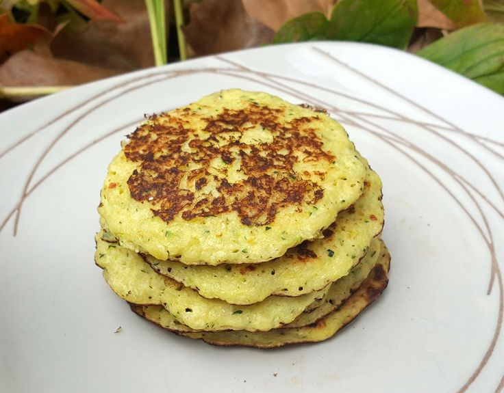 Courgette and yogurt pancakes - CookTogether