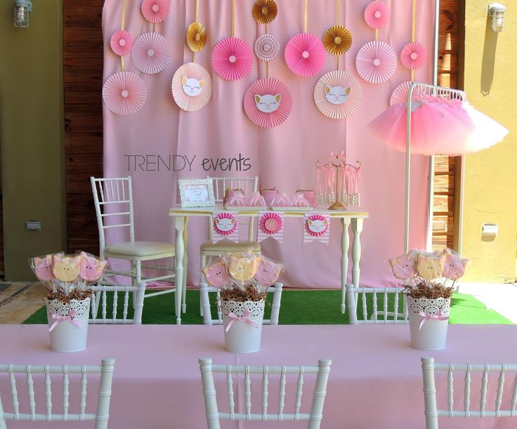 decoracion de trendy event