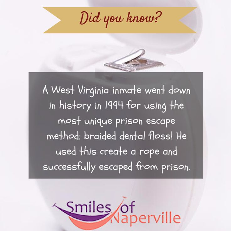 Escape The Bathroom Dental Floss 13 best dental facts images on pinterest | dental facts, did you