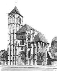 Pont-Audemer .. Eglise Saint-Ouen