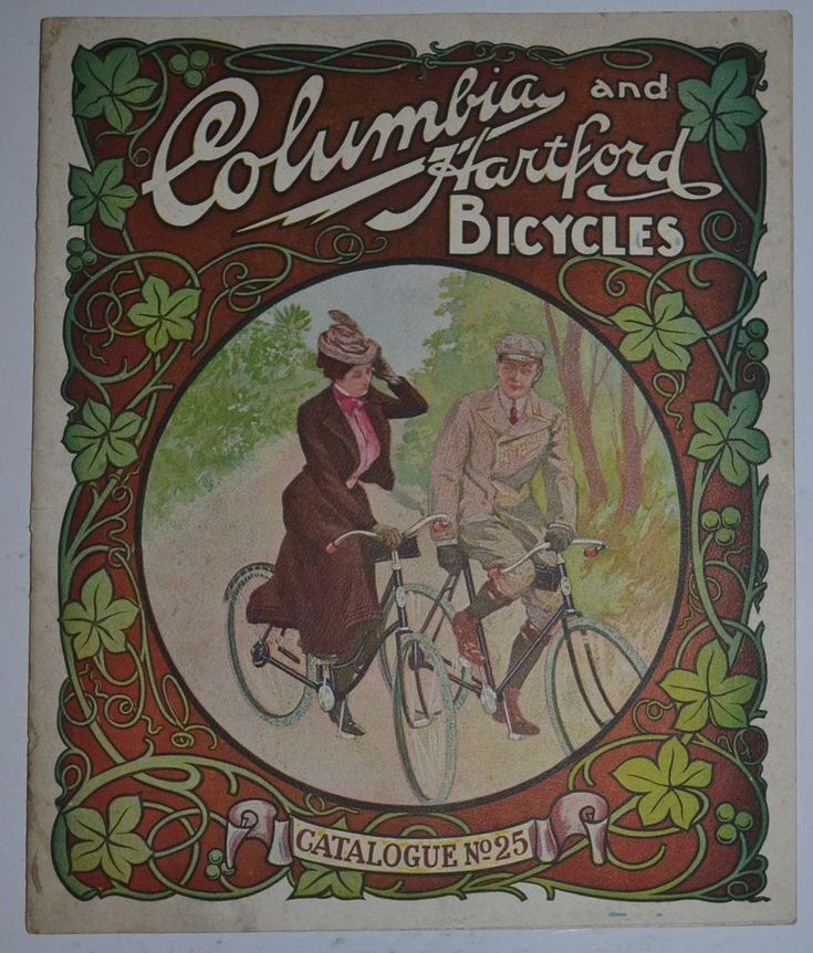 Rare 1902 Columbia and Hartford Pope Manufacturing Antique Bicycle Catalog No 25 #Ranger