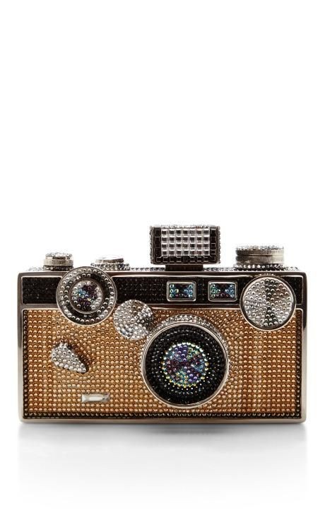 Judith Leiber Camera Bag by Judith Leiber for Preorder on Moda Operandi
