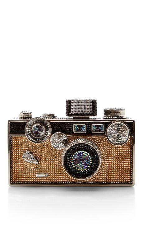 Judith Leiber Camera Bag by Judith Leiber for Preorder on Moda Operandi