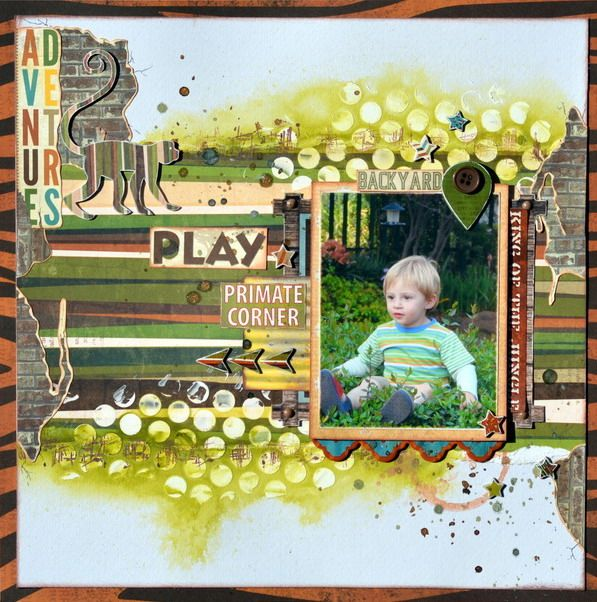 428 Best Bo Bunny Layouts Images On Pinterest