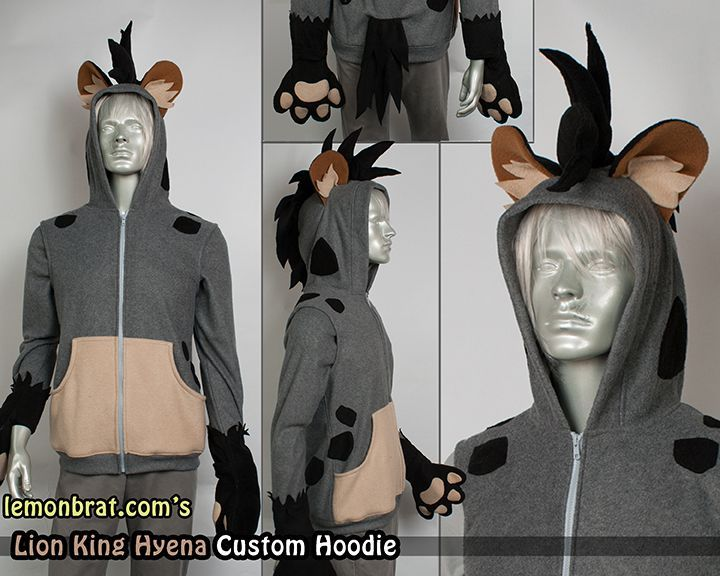 Costume model Hyena king lion - Google Search