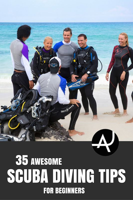 Scuba Diving Tips For Beginners. Check out these awesome 35 tips to become a better diver and make the most out of your next diving experience.