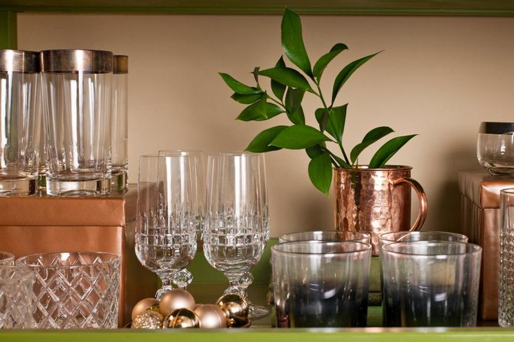 Setting up a separate beverage station away from the food makes entertaining much easier and it gives guests another place to mingle.  See how to set up a traditional bar cart, a beer table and a hot chocolate buffet.
