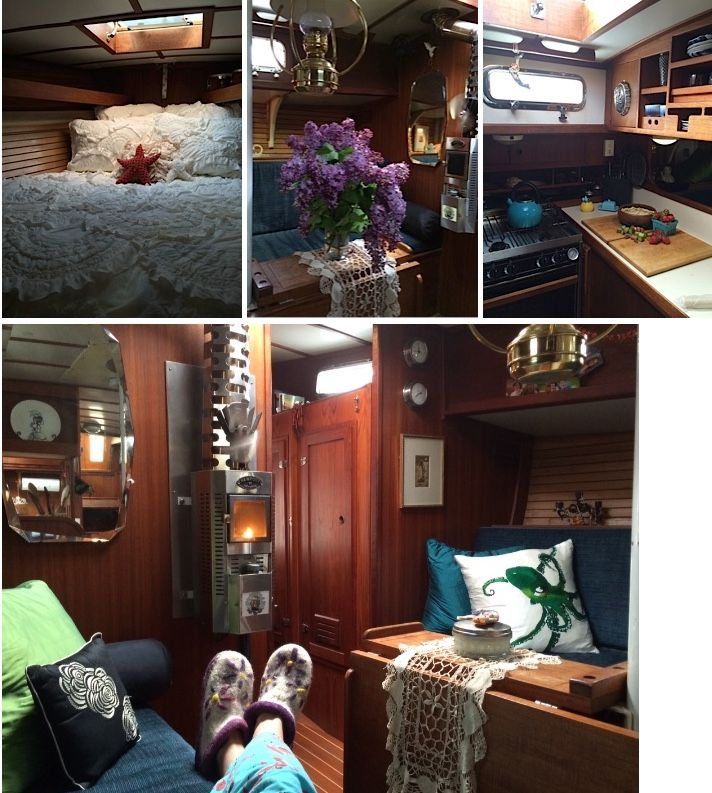 Sailboat – Less is More :  tinyhouseblog - Oct 28, 2014  #sailboat_living