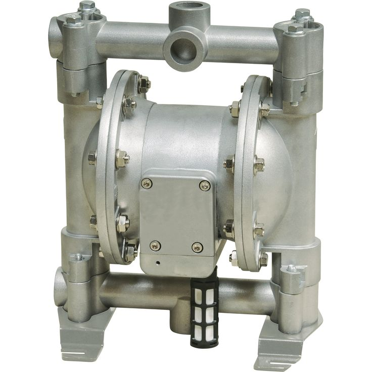 Roughneck Air-Operated Double Diaphragm Pump — 12 GPM, 1/2in. Inlet & Outlet | Air Operated Oil Pumps| Northern Tool + Equipment