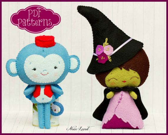 Hey, I found this really awesome Etsy listing at https://www.etsy.com/listing/155204985/pdf-the-wicked-witch-of-the-west-and-the