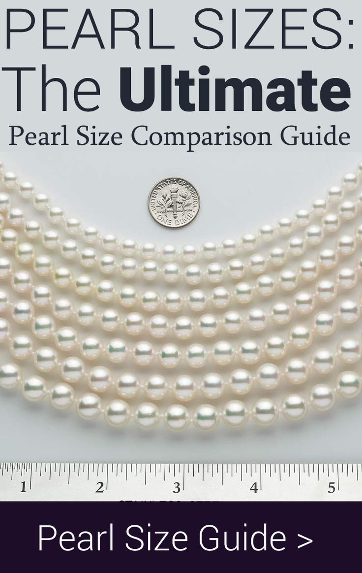 pearl size guide in 2019 akoya pearls pearls necklace. Black Bedroom Furniture Sets. Home Design Ideas