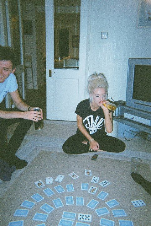 remember the days when cards and monopoly and chess and twister was the best.. i still think it is <3