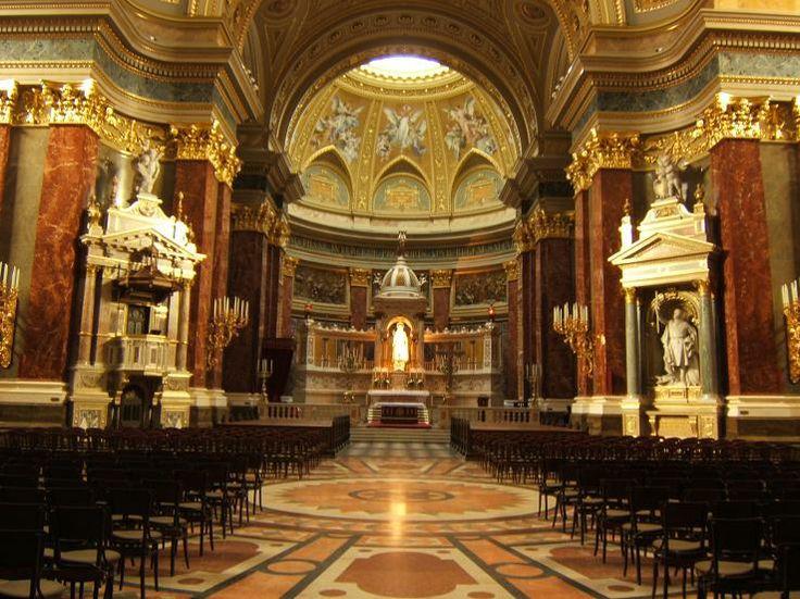 Inside St. Stephen's Basilica