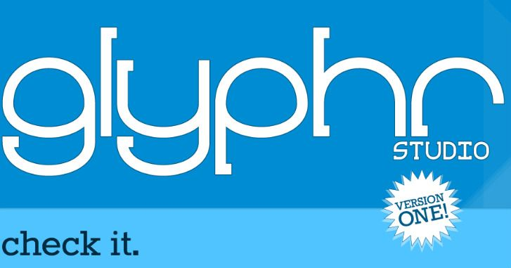 Glyphr Studio Web-based Font Editor Tool - Have you ever wanted to design your own font? If you have, you might want to give Glyphr Studio a look. Glyphr is a free-to-use, online font editor which has everything you'd come to expect in a vector editing software including lockable attributes, keyboard shortcuts, and root components. Once you're happy with the look of your font, you can easily export it as Open Type, True Type or SVG files.