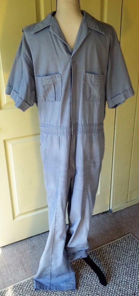 Walls VTG Men's Coveralls Jumpsuit One Pc~Sz 42 44~Medium Gray~Work Mechanic | Clothing, Shoes & Accessories, Vintage, Men's Vintage Clothing | eBay!
