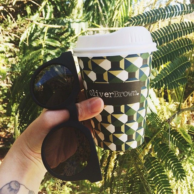 Coffee on-the-go with @jadeypower! #oliverbrown