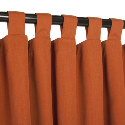 Sunbrella Curtain with Tab Regency Sand
