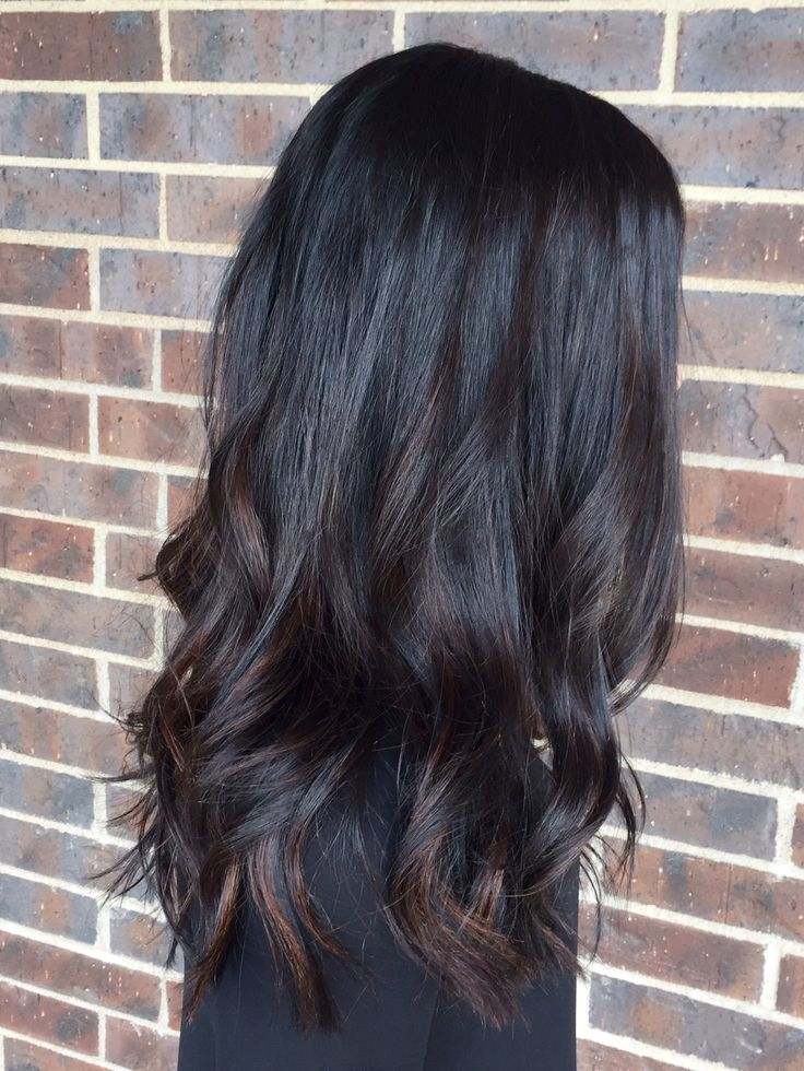 Aveda Full Spectrum Deep (deposit) with Enlightener balayage, Hair by Mackenzie Lytle