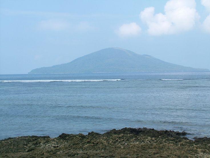Emau Island Vanuatu. View from Takara