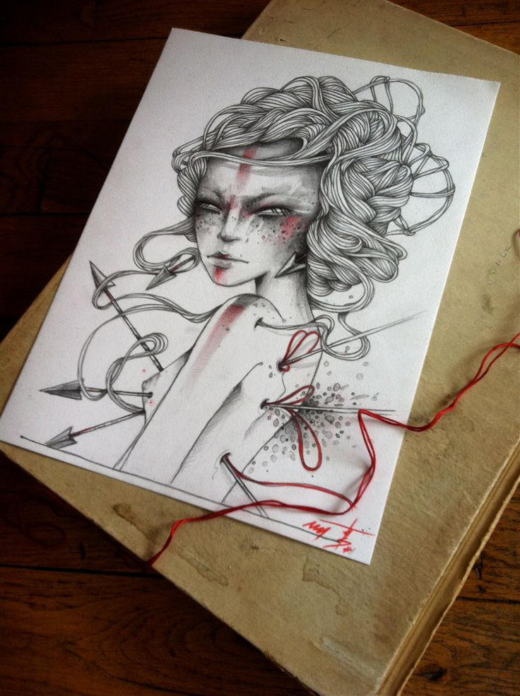 Drawing by Thoughts of Shades / via www.allaboutrohmy.com