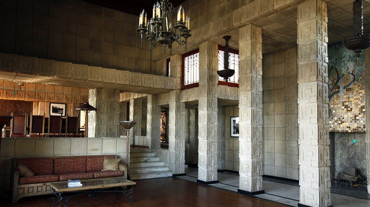 Frank Lloyd Wright's Ennis house - When Frank Lloyd Wright completed the Ennis house in 1924, he immediately considered it his favorite. The last and largest of the four concrete-block houses that Wright built in the Los Angeles area remains arguably the best residential example of Mayan Revival architecture in the country.