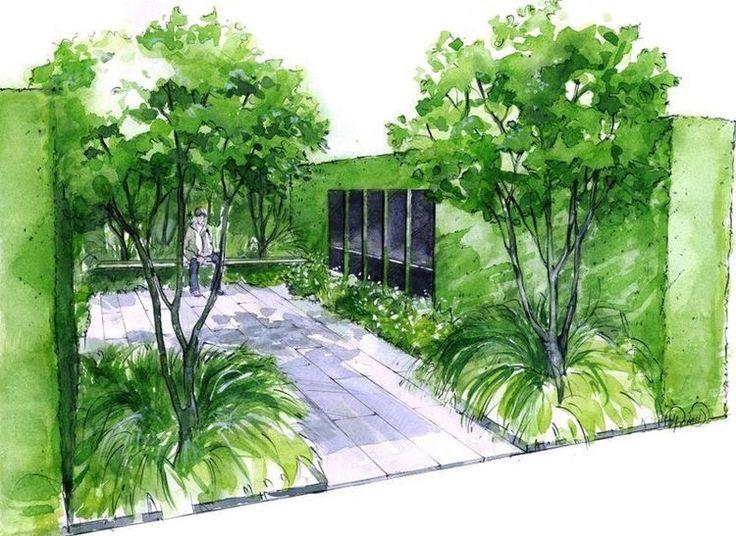 Best Garden Design Images On Pinterest Landscape Designs