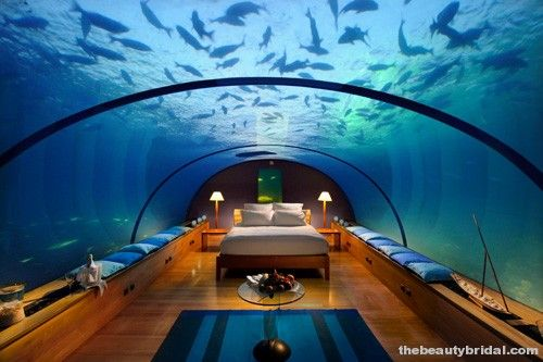 Conrad Maldives Rangali Island's... WOW!!! Definitely on the list!