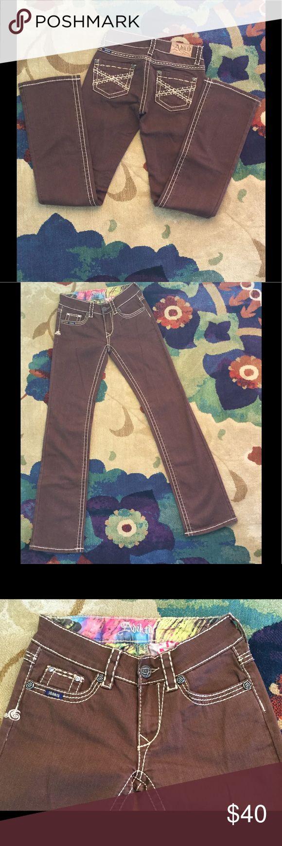 Adiktd New Ladies Jeans Adiktd New (no tags) Ladies Jeans Size 0/W26, Inseam 34 Regular 98% Cotton 2% Spandex Style ADJ1307531-A Adiktd Jeans