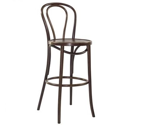 Paris Classic bentwood design in stool height.  Also available in painted finish.